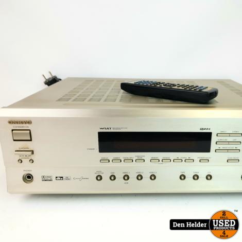 Onkyo TXSR501E 100 Watt Versterker - In Goede Staat