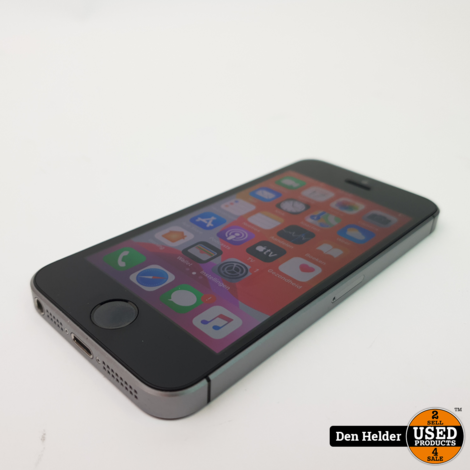 iPhone SE 16GB Space Gray Accu 96% - In Prima Staat
