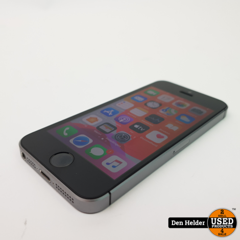 iPhone SE 16GB Space Gray Accu 92% - In Prima Staat