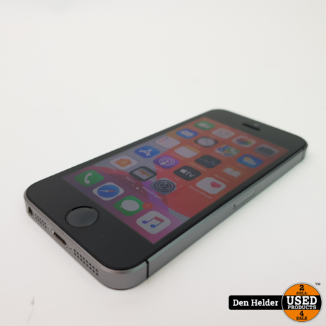 iPhone SE 16GB Space Gray Accu 90% - In Prima Staat