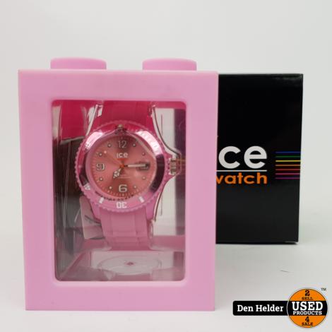Ice Watch Sili Pink Horloge - Nieuw in Doos