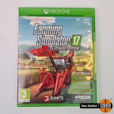 Microsoft Farming Simulator 17 Microsoft Xbox One Game - In Prima Staat
