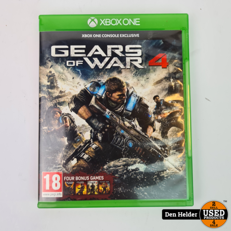 Gears of War 4 Microsoft Xbox One Game - In Prima Staat