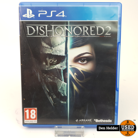 Dishonored 2 PS4 Game - In Prima Staat