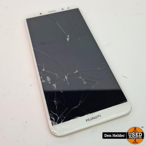 Huawei Mate 10 Lite 64GB Wit - Barst op de Display