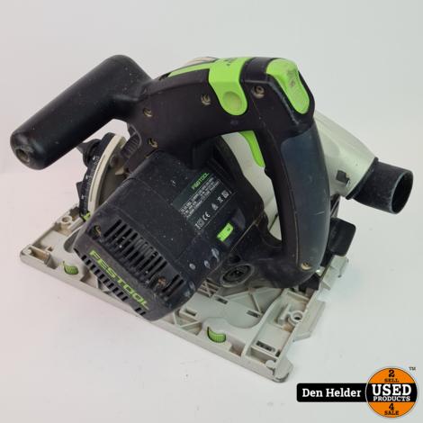 Festool TS55EBQ Invalcirkelzaag (zonder geleider) - DAGDEAL