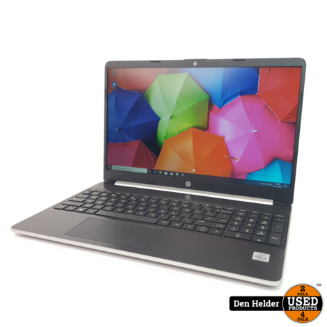 HP 15s 15s-FQ1421ND Windows 10 Laptop i3 10e Generatie 256GB SSD 8GB - DAGDEAL