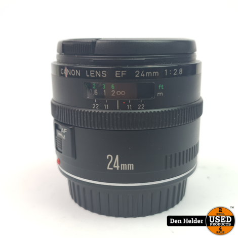 Canon EF 24mm 1-28 Pancake Lens - In Prima Staat