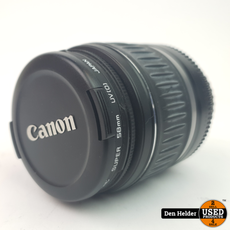 Canon EFS 18-55mm Super 58mm Lens - In Prima Staat
