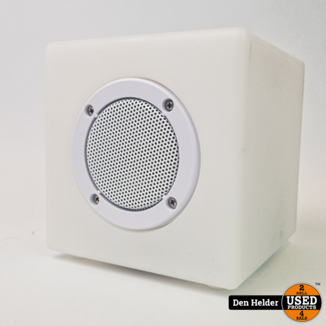 Smooz Music Cube 15 Wit - In Goede Staat
