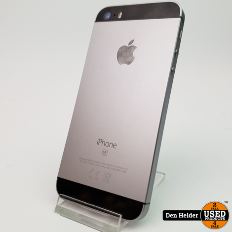 Apple iPhone Se 32GB Space Gray - In Prima Staat