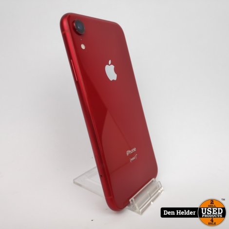 iPhone XR 64GB Red Accu 98% - In Prima Staat