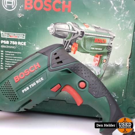 Bosch PSB 750 RCE Boormachine - In Prima Staat