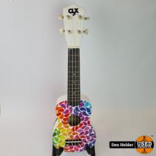 CLX Ukelele Rainbow Drips - Nieuw