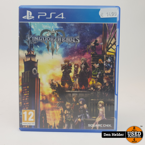 Kingdom Hearts III PS4 Game - In Prima Staat
