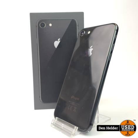 iPhone 8 64GB Space Gray Accu Conditie 92 - In Goede Staat