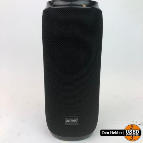 Denver BTS-120VO Bluetooth Speaker Black - In Prima Staat