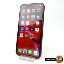 Apple Apple iPhone XR 64GB Rood Accuconditie 88% - In Goede Staat