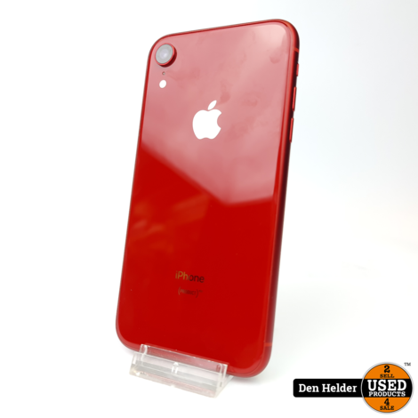 Apple iPhone XR 64GB Rood Accuconditie 88% - In Goede Staat