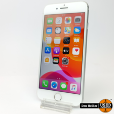 Apple iPhone 8 256GB Silver Accuconditie 100% - In Prima Staat