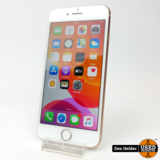 Apple iPhone 8 256GB Gold Accuconditie 100% - In Prima Staat