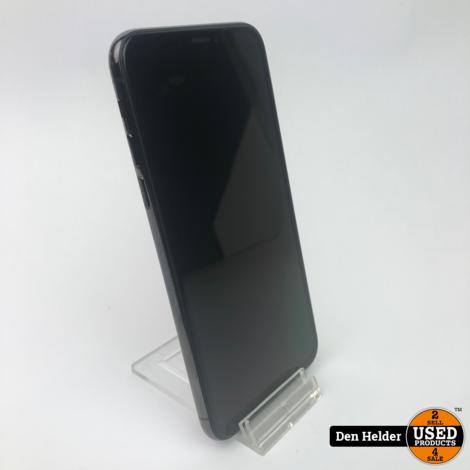 Apple iPhone X 64GB Accu 88% Zwart - In Prima Staat
