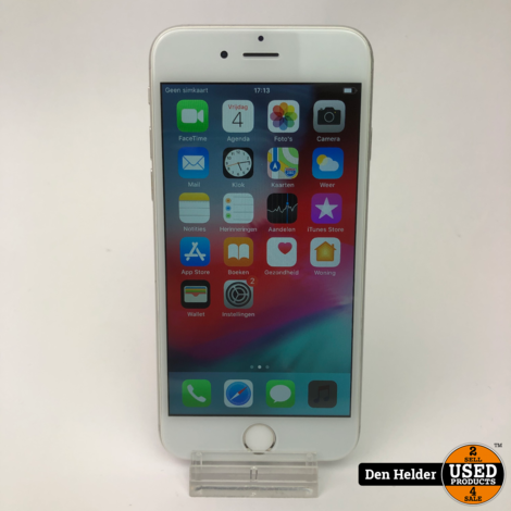 iPhone 6 16GB Silver Accuconditie 86% - In Prima Staat