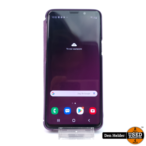 Samsung Galaxy S9 Roze 64GB Incl Led Case - In Prima Staat