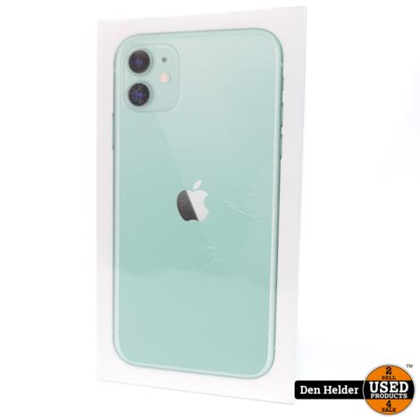 iPhone 11 64GB Groen 1 Apple Care Garantie - Nieuw in Doos Geseald