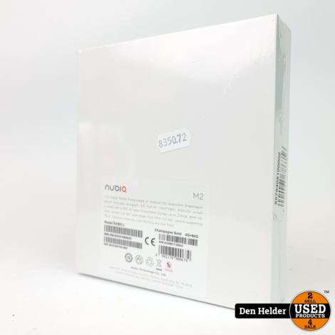 Nubio M2 64GB Gold - Nieuw