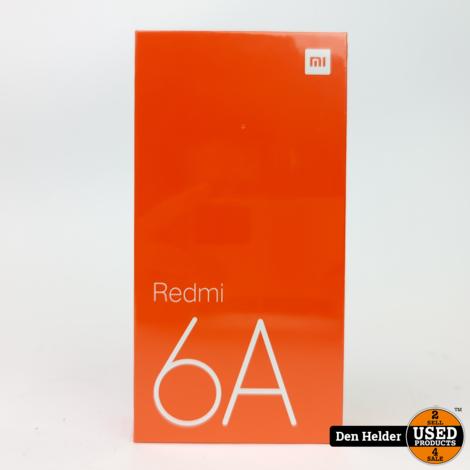 Xiaomi Redmi 6A 32GB Blauw - Nieuw
