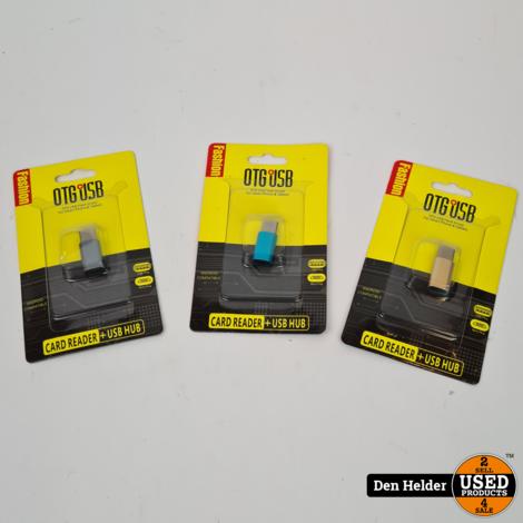 OTG USB flash drive for smartphones - Nieuw
