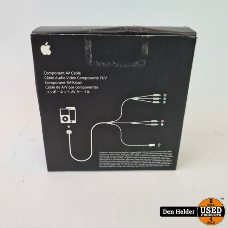 Apple Component AV Cable - In Prima Staat