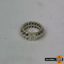 Buddha to Buddha Ring Maat 17 Silver - In Gebruikte Staat