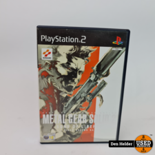 Metal Gear Solid 2 Sons of Liberty Collectable - In Prima Staat