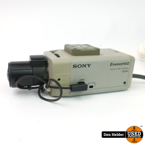 Sony SSC DC338P Bewakingscamera Analoog - In Prima Staat