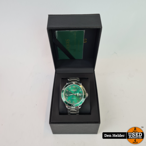 Gamages Exhibition Green Herenhorloge - Nieuw