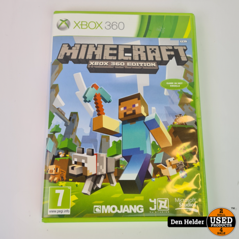 Minecraft Xbox 360 Edition - In Goede Staat