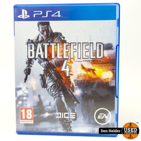 Battlefield 4 PS4 Game - In Prima Staat