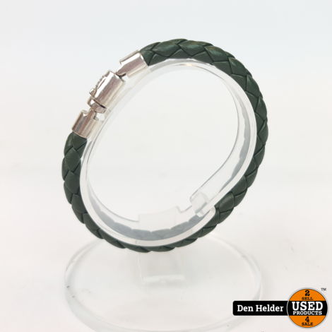 Buddha to Buddha Ben Small Leather Groen - In Nette Staat