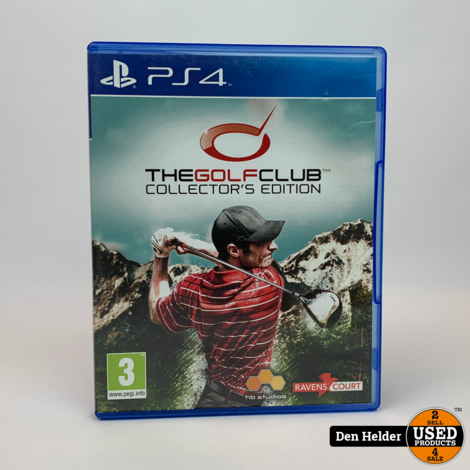 The Golf Club Collector's Edition PS4 Game - In Nette Staat