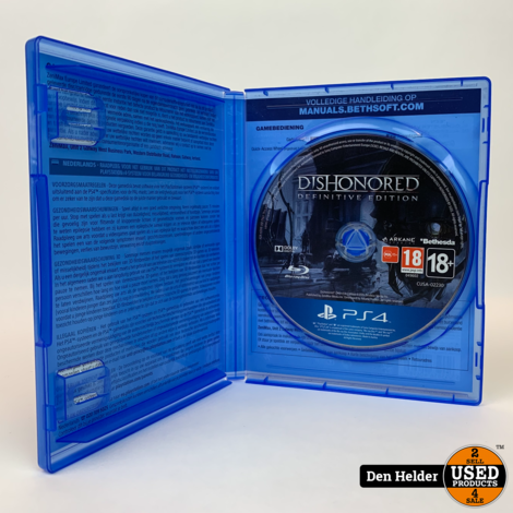 Dishonored Definitive Edition PS4 Game - In Nette Staat
