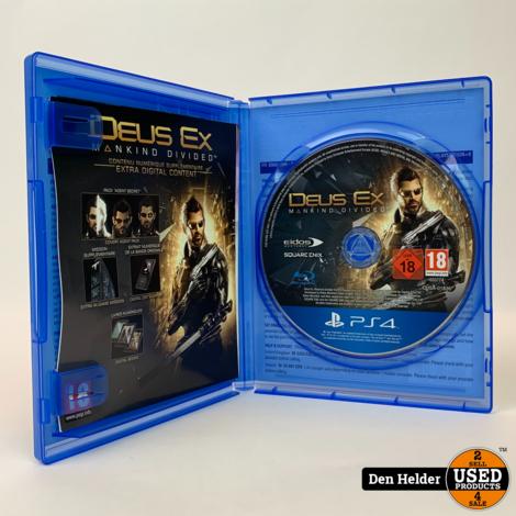 Deus EX PS4 Game - In Nette Staat