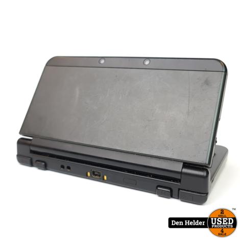 New Nintendo 3DS Spelcomputer Zwart - In Prima Staat