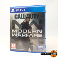 Call of Duty Modern Warfare PS4 Game - In Nette Staat