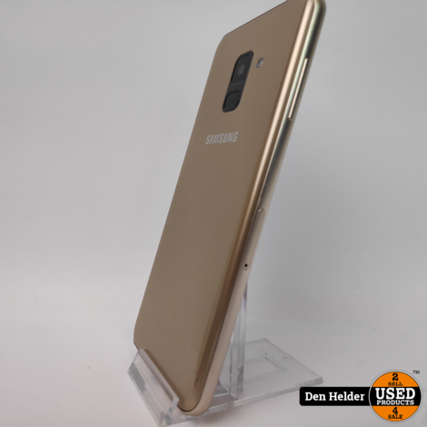 Samsung Galaxy A8 2018 32GB Goud - In Nette Staat