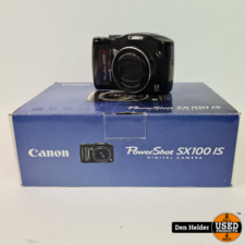 Canon Canon Powershot  PC1256 Digitale Camera 8MP 10X Zoom - In Nette Staat