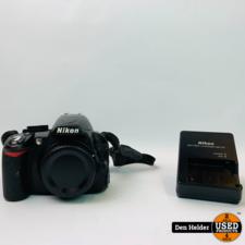 Nikon D3100 Body Zwart - In Nette Staat