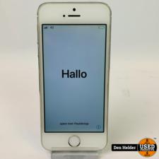 Apple iPhone 5s 16GB  Wit - In Nette Staat