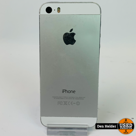 iPhone 5s 16GB  Wit - In Nette Staat